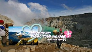 Ijen Crater Bromo Tour Package 3 Days 2 Nights