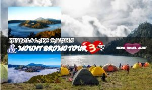Kumbolo lake Camping Bromo Tour Package 3 days