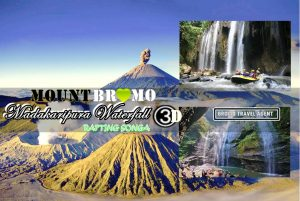 Madakaripura Waterfall Bromo Rafting Tour Package 3 Days