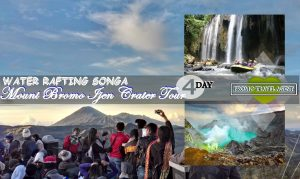 Mount Bromo Ijen Rafting Tour Package 4 days